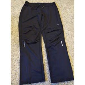 Nike Men's Dri Fit Running Pants Black sz: L